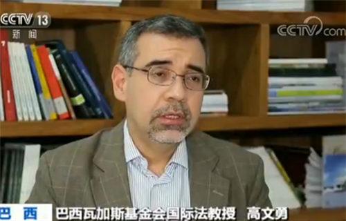 巴西瓦加斯基金会国际法教授高文勇