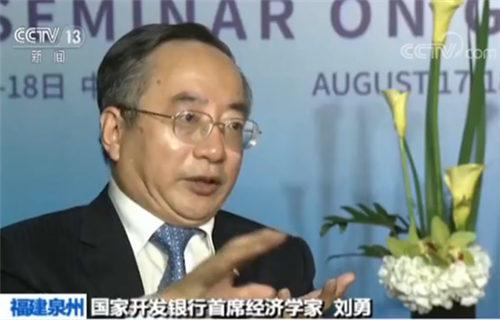 国家开发银行首席经济学家刘勇