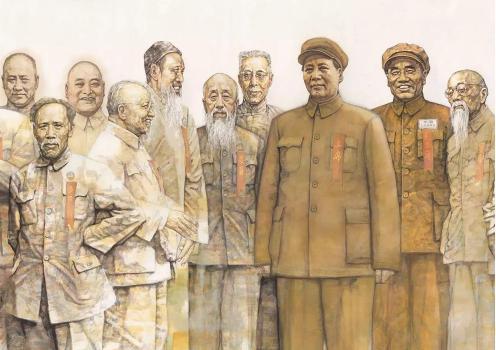 《换了人间——1949·北京》局部