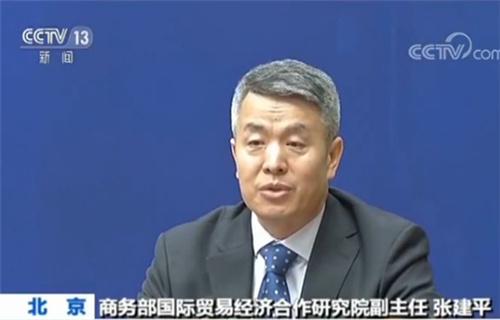 商务部国际贸易经济合作研究院副主任张建平