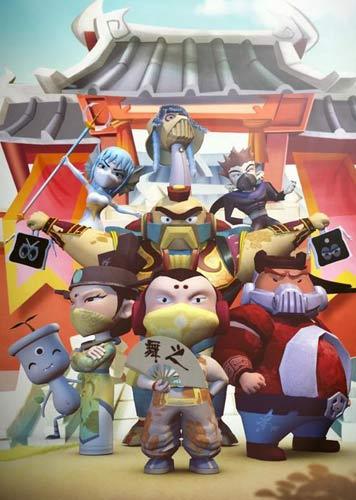 游戏结构也是围绕着动画情节展开,讲述小王子赵靖康率领他的炮兵团