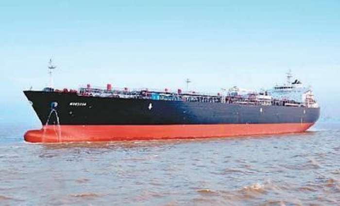 图为上海外高桥造船有限公司自行研发设计的8.5万立方米超大型全冷式液化石油气运输船。资料图片
