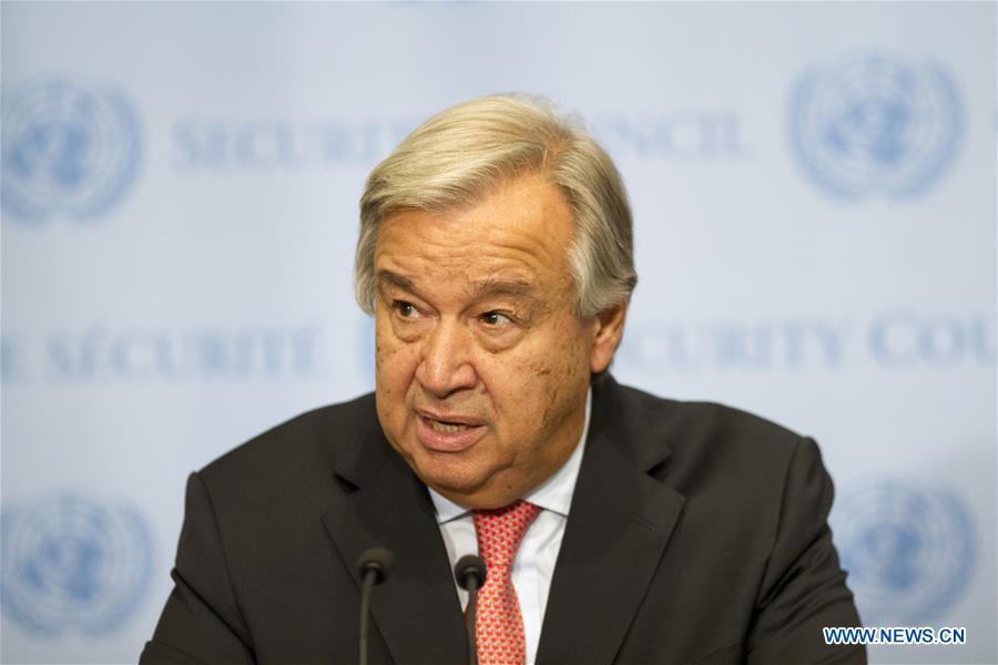 """Guterres réitère que la solution à la question nucléaire de la péninsule coréenne doit être """"politique"""""""