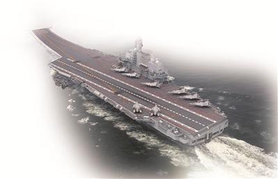 中国航母编队 牵动世界目光的航迹