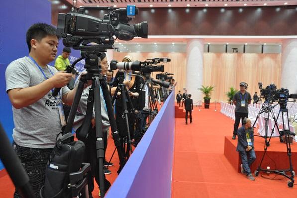 افتتاح معرض الصين والدول العربية عام 2017 في يينتشوان الصينية