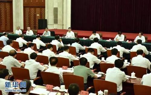 2016年7月20日,习近平在银川主持召开东西部扶贫协作座谈会并发表重要讲话。