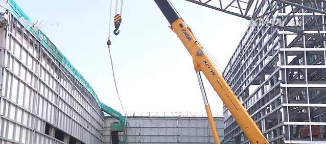 建设中的ABB厦门工业中心