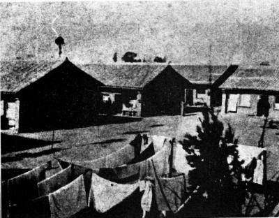 西北联大法商学院学生宿舍,摄于1938年4月.-西北联大 抗战烽火中