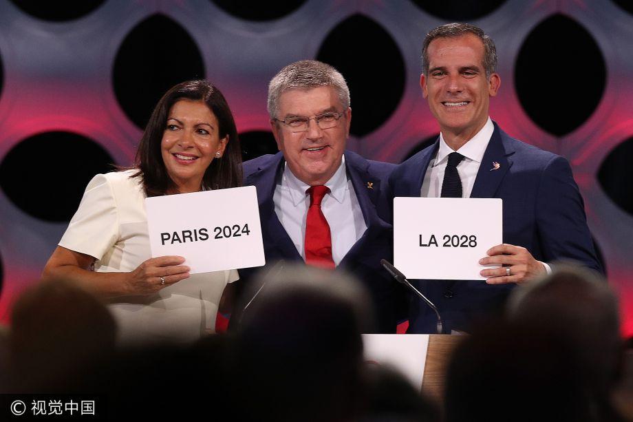 2024和2028夏奥会分别花落巴黎和洛杉矶