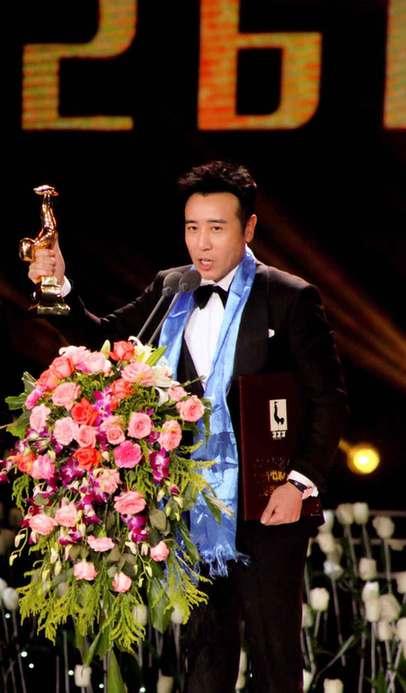 """金鸡奖最佳男配花落于和伟 感谢""""戏精创造的极佳氛围"""""""