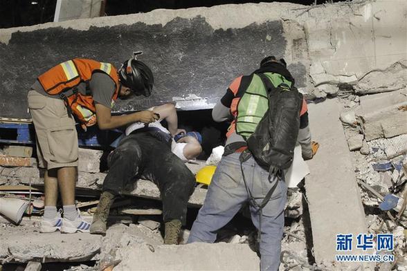 Protección Civil actualiza en 230 número de muertos por terremoto en México