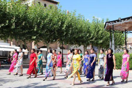西班牙华人旗袍秀