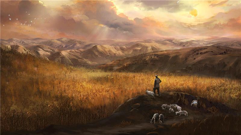 《兰花花》序幕——谷子地