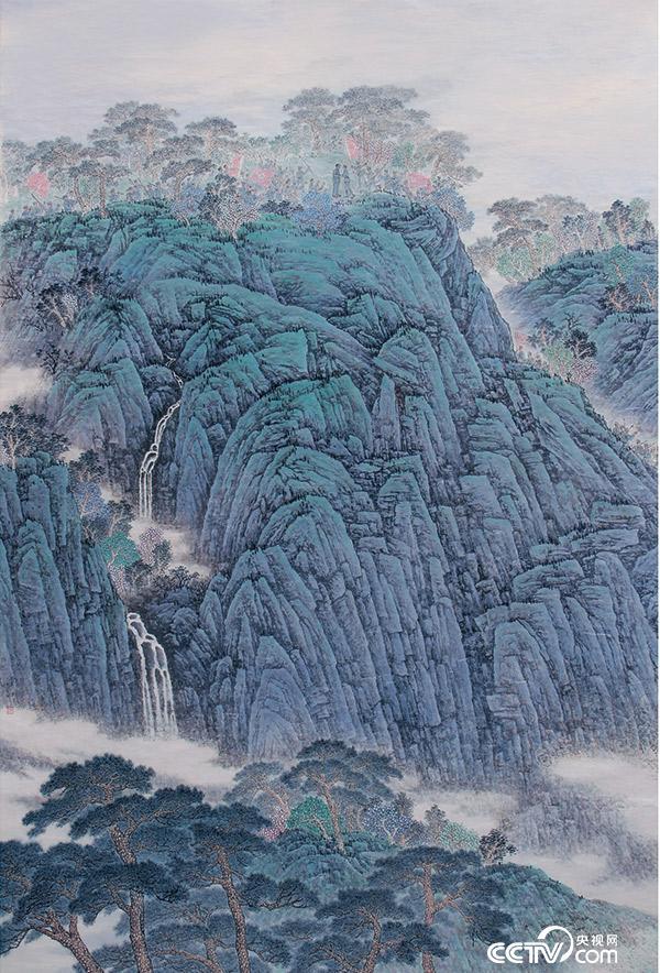 山东巨野工笔画国庆黄金周亮相京城