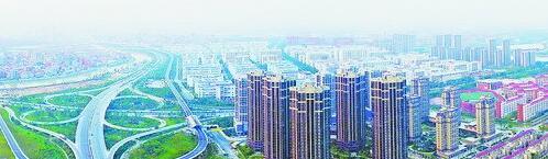建设中的环东海域新城