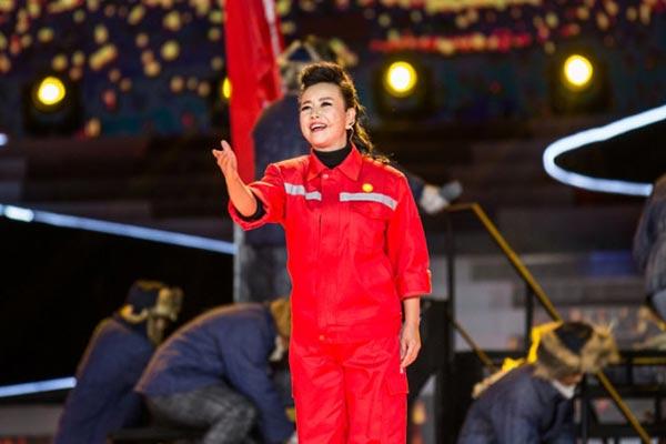 姚林辉演唱《满怀深情望北京》