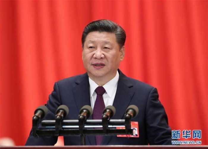 10月18日,中国共产党第十九次全国代表大会在北京人民大会堂隆重开幕。习近平代表第十八届中央委员会向大会作报告。 新华社记者 马占成 摄