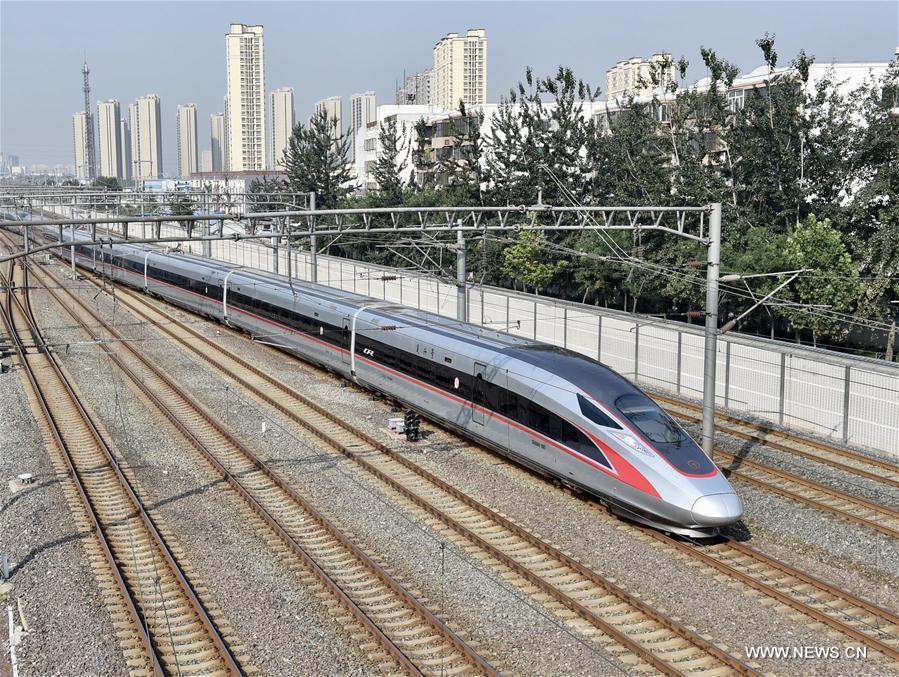 Les trains Fuxing ont transporté 460.000 passagers entre Beijing et Shanghai en un mois