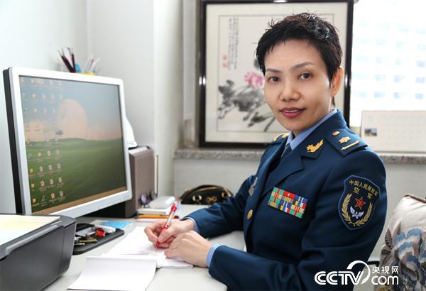 空军总医院正骨科护士长 甄鹰