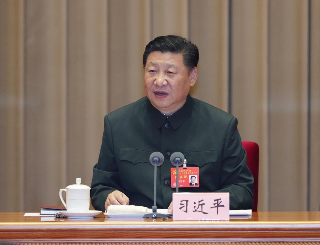 10月26日,中共中央总书记、国家主席、中央军委主席习近平出席在京召开的军队领导干部会议并发表重要讲话。