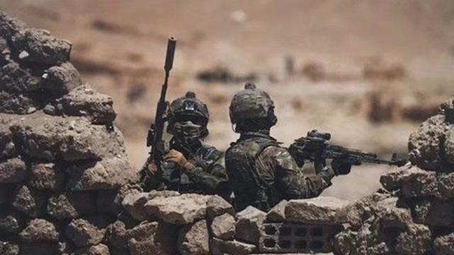 俄特种部队在叙利亚作战