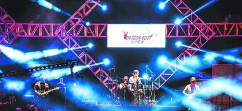 去年的龙舟唱晚集美学村音乐节现场