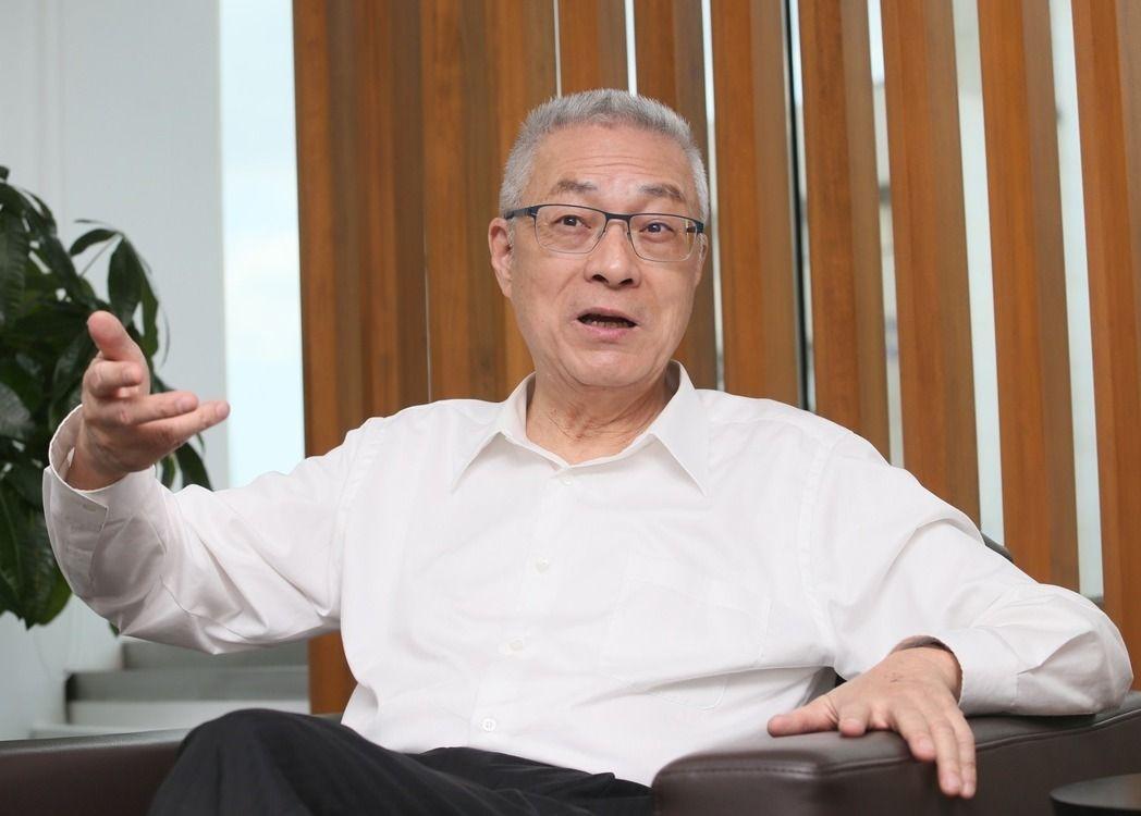 国民党主席吴敦义。(图片来源:台湾《联合报》))