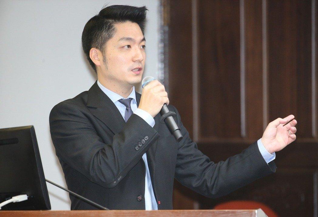 蒋万安(图片来源:台湾《联合报》)