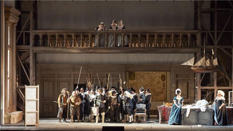 维也纳国家歌剧院演出剧照