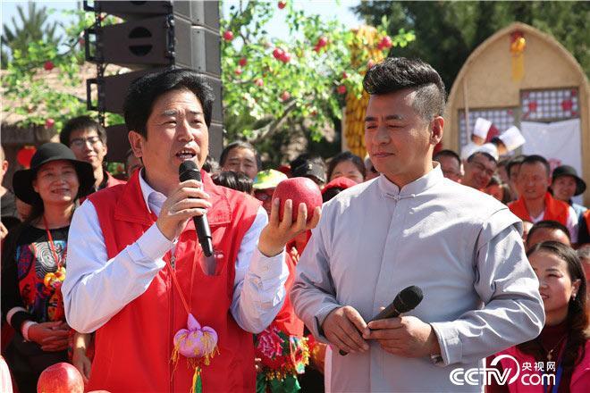 甘肃省庆城县人民政府县长为庆阳苹果疯狂打CALL