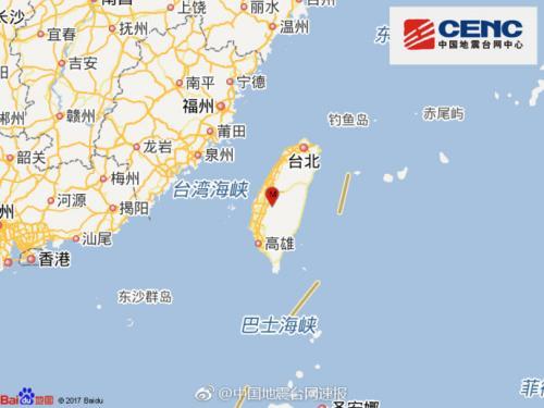 图片来源:国家地震台网官方微博。