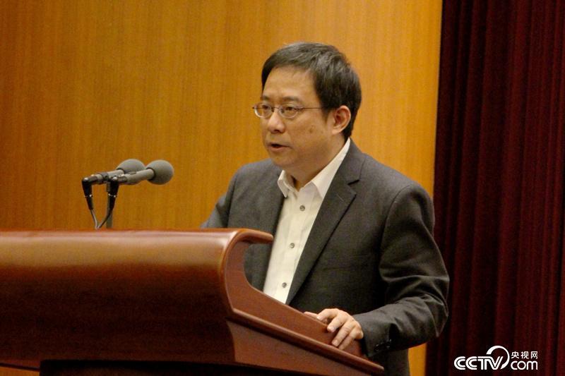 十九大代表、中央党史研究室第二研究部主任黄一兵