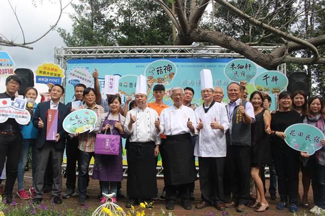 台湾大甲溪观光文化祭14日在新社千桦花园开锣