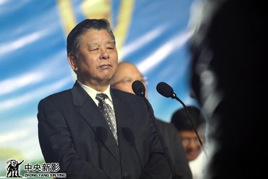 十二届全国政协常委、教科文卫委员会副主任胡振民宣布开幕