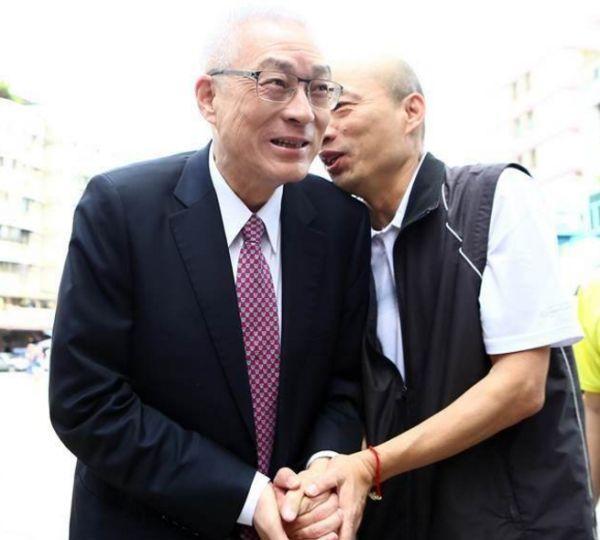 外传国民党主席吴敦义规划让韩国瑜投入2018高雄市长选举