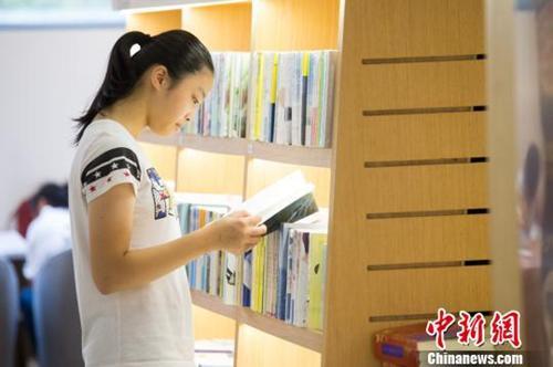 资料图:书店内阅读氛围浓厚