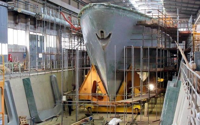 承揽猎雷舰的庆富造船,爆发严重财务危机,遭第一银行除宣布联贷违约。