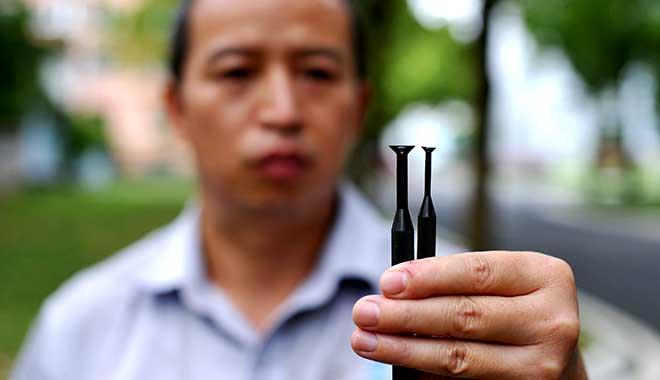陶安测量零件尺寸