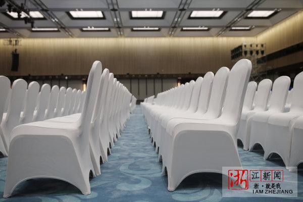 乌镇互联网国际会展中心为第四届世界互联网大会召开有序筹备中。