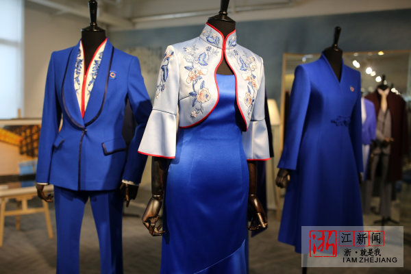 EP雅莹集团为第四届世界互联网大会志愿者设计的服装。
