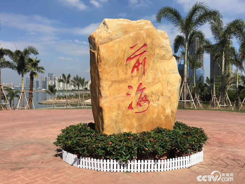 中国(广东)自由贸易试验区深圳前海蛇口自贸片区的前海石