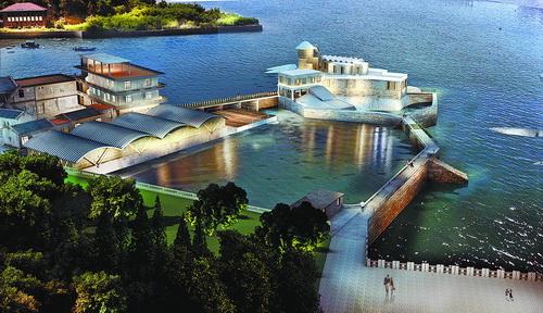 厦门海博物馆夜间景观效果图