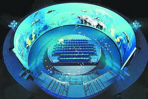 6D环幕影院让您享受海洋视觉盛宴