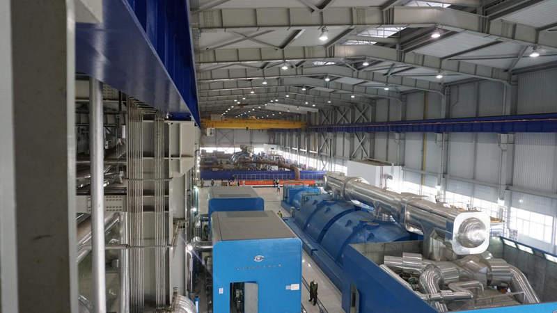 卡西姆港燃煤电站内部