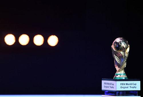 世界杯32强分组抽签尘埃落定:神圣的大力神杯