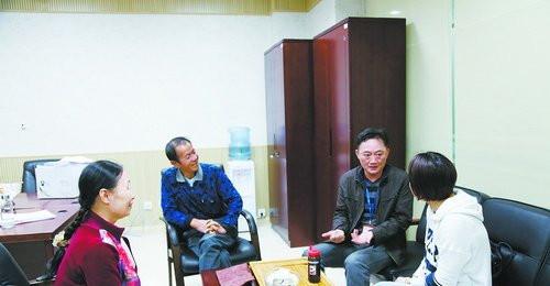 湖里法院专职调解员刘建强调解物业纠纷