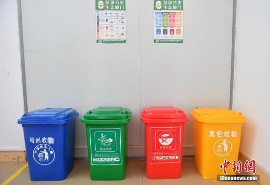 资料图:垃圾分类 吕明 摄