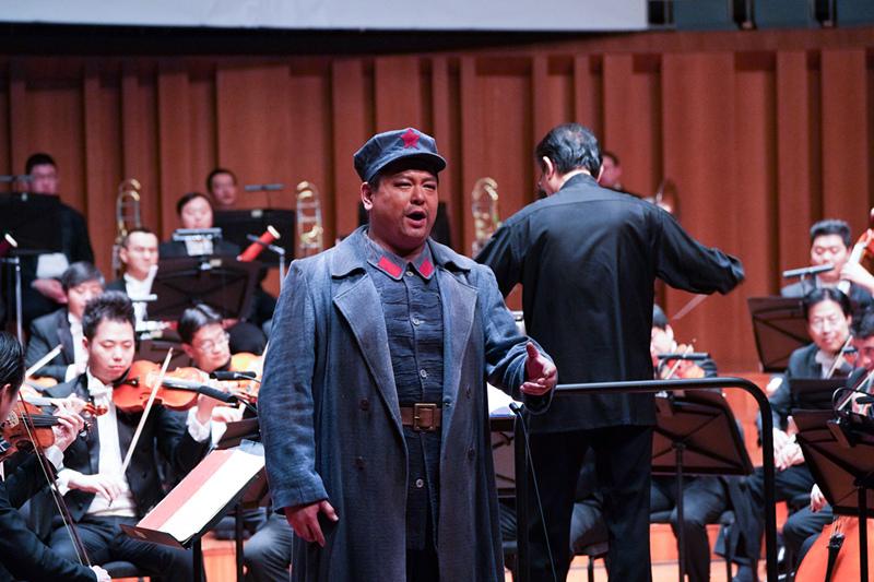 国家大剧院驻院歌剧演员王冲诠释歌剧《长征》经典唱段