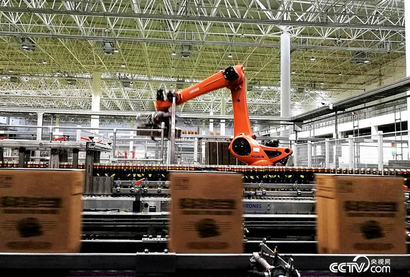 高度自动化的生产车间