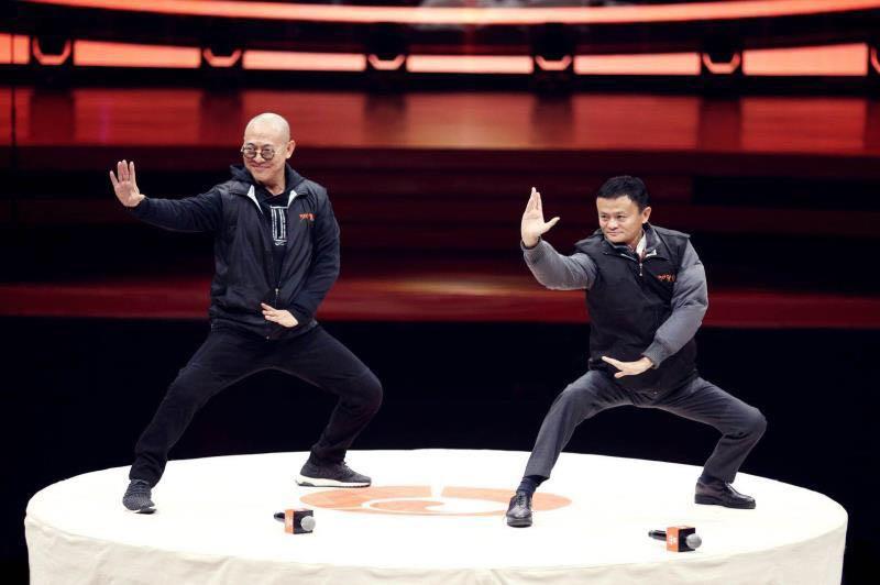功守道登陆cctv5 马云和李连杰全力推太极进奥运